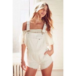BDG Urban Outfitters shorts overalls shortalls XS